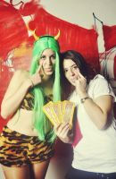 Lum and Girl by lamuchan