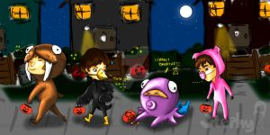 Beatle Halloween by Tigers13