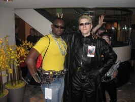 Wesker and Luke Cage by Kamisamaa