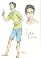 Seth Clearwater by burdge