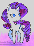 Rarity watercolor by Topaztortise