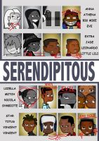 Serendipitous chapter 1 cover by Hawkjam