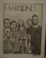 Maroon 5: Hands All Over by CanislovesMaroon5