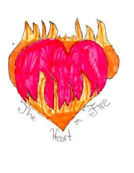 the Heart on Fire by purplelover2000