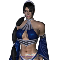 MK9 Kitana Alternate Costume Retexture by little--miss--mia