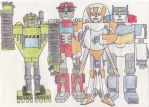 Transformers Rescue Bots: Group Photo by EHSparkwoman
