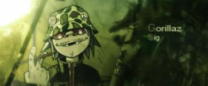 gorillaz variation by LancelotPL