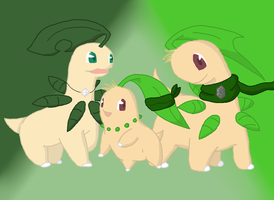Step Forth, the Heroes! by ChicoChikorita