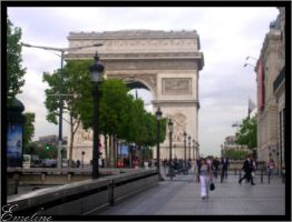 Arc de Triomphe by schatzii54