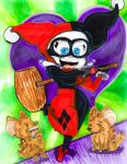 Here comes Harley!!! by Rockerchick22