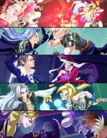 Dissida Bookmarks VI-X by Bewinged