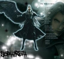 Sephiroth-The one Winged Angel by NightBlossom66