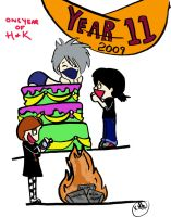 The Life of H.K - One Year Old by Haley-Hatake