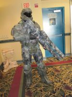 2014 Sukoshi Con, Day 1 Karl the ODST by AxelHonoo