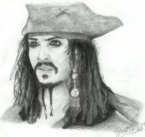 Disembodied Jack Sparrow by Sterin