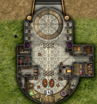 Converted Cathedral by Alachine