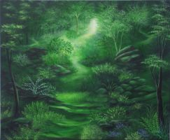 Green Landscape 2 by Nanette55