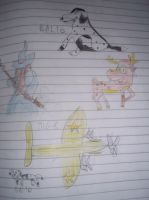 Some Of My Drawings by edge4923