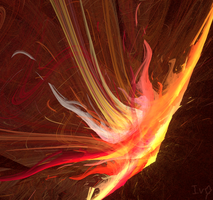 Fire Blossom by LadyIvyoftheWood