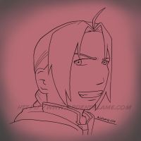 Commission Edward Elric by Purplefire40