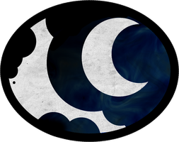 Princess Luna / Nightmare Moon Cutie Mark Logo by AncientOwl