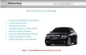 Hire Executive Cars Reading by Millenniumcars
