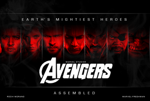 The Avengers Assembled Banner by Marvel-Freshman