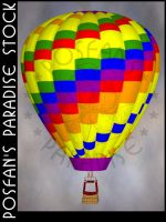 Hot Air Balloon 002 by poserfan-stock
