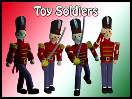 More Toy Soldiers by Stock-by-Dana