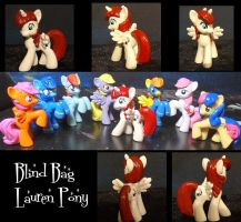 Blind Bag Lauren Pony by stripeybelly