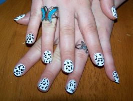 Music Notes and Heart Nails by Boo-tastic
