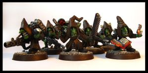 Grot Special Weapons Squad by Proiteus