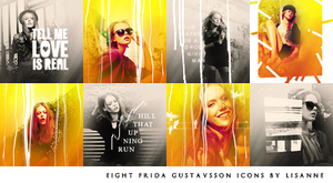 Frida Gustavsson icons by wherestherain