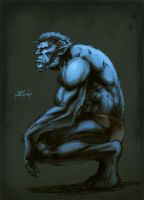 The beast Metcalf colors by SpicerColor