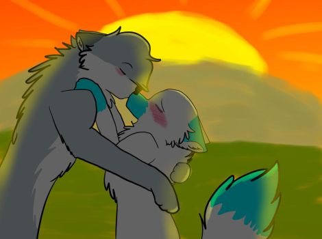 Me and Sianii are dating....woahhhh by MishkaTheWolf