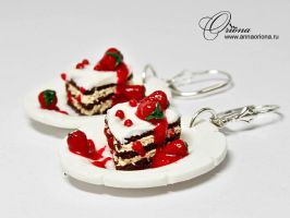 Earrings 'Sweet Heart' by OrionaJewelry