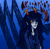 Homestuck Doodle - Sketchy Scorpio by abbic314