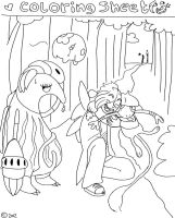 Coloring Sheet with Arcus Trade by Chibi-C