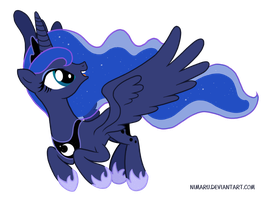 Princess Luna - Beautiful Pony of the Night by Nimaru