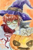 Fanart : Trick or Chips (707) by TashaChan