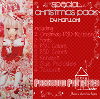 Special Christmas Pack by Haru.chii by haru030500