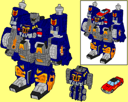 Megas XLR - Robot Mode by AsswhompSupreme