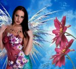 Flower Fairy by OnCallArtistry