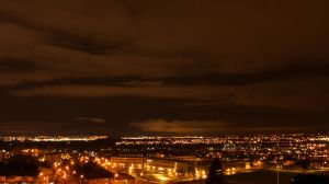 Clydebank at Night by bigandyb1