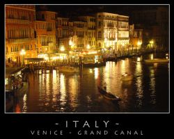 Venice - Night view by dark-spider