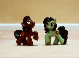 MLP - Mako and Bolin ponies by LynxGriffin