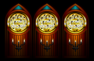 Wall Candles by Robohippyv2