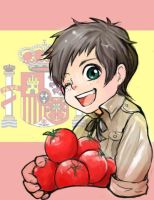 aph hetalia spain chibi by 7point7
