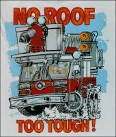 No Roof Too Tough by RamageArt