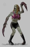Genetically Altered Zombie 03 by headpie